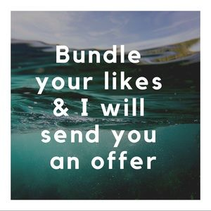 Other - Sale for bundle your likes for an offer